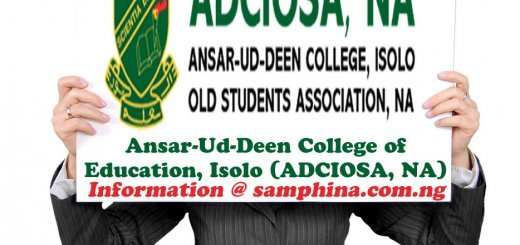 Ansar Ud Deen College of Education Isolo ADCIOSA NA