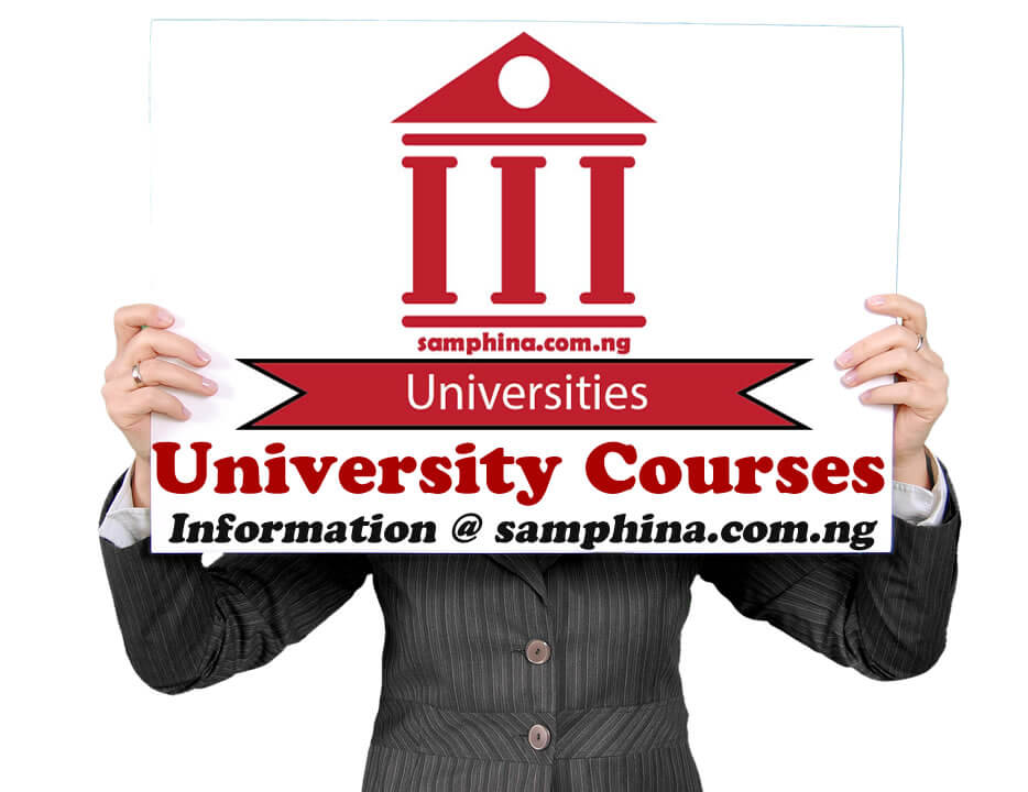 Complete list of courses offered in Nigerian Universities