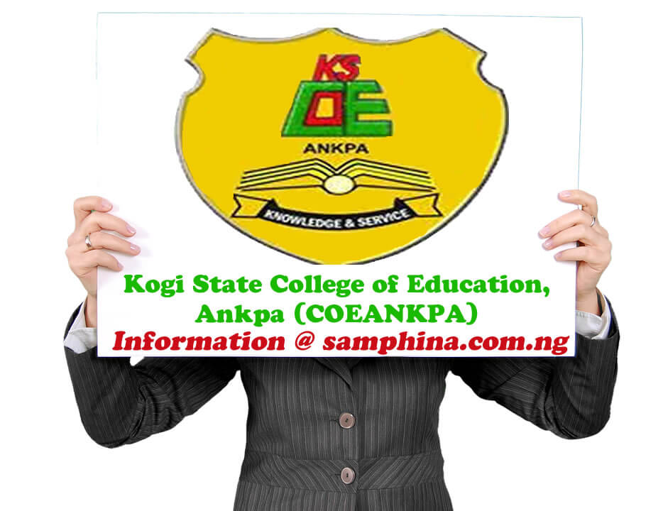 Courses Offered in Kogi State College of Education Ankpa COEANKPA
