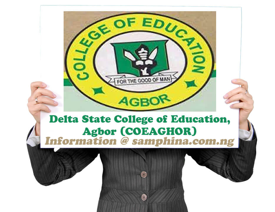 Delta State College of Education Agbor COEAGHOR
