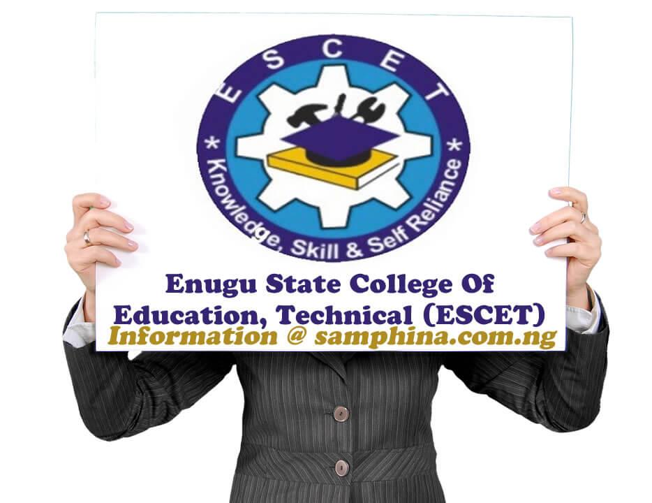 Enugu State College Of Education Technical ESCET