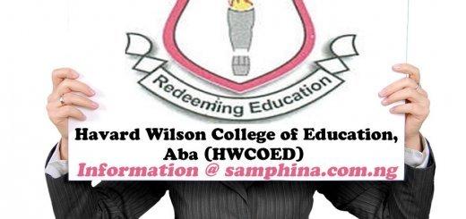Havard Wilson College of Education Aba HWCOED