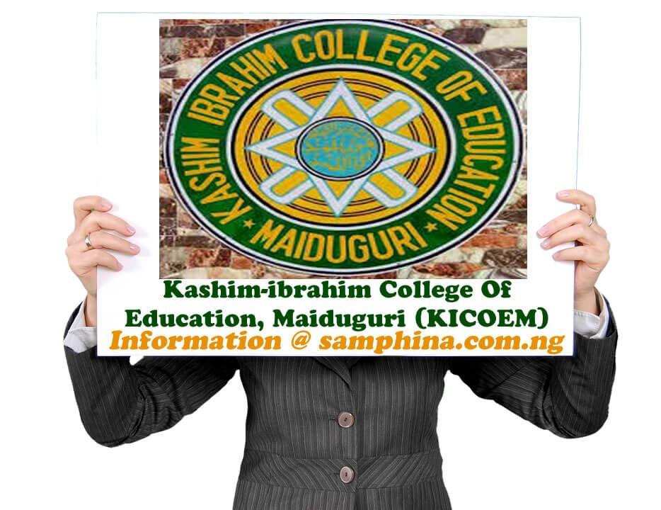 Kashim ibrahim College Of Education Maiduguri KICOEM