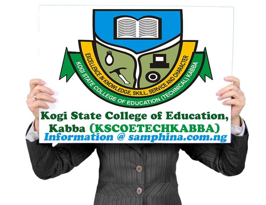 Kogi State College of Education Kabba KSCOETECHKABBA