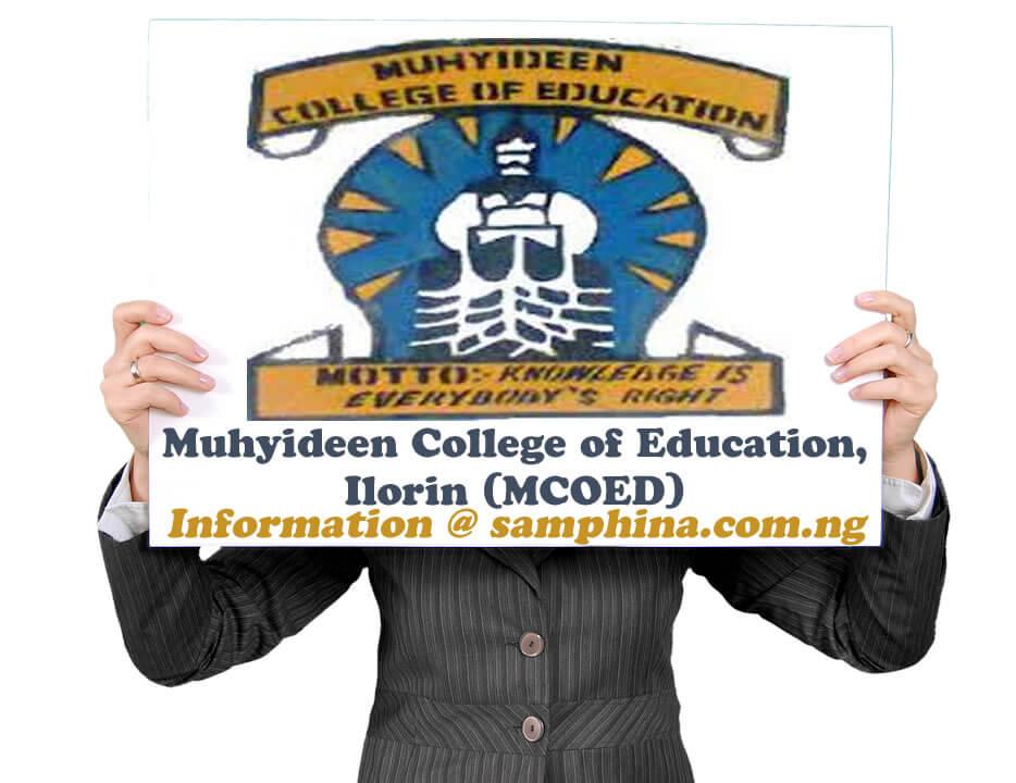 Muhyideen College of Education Ilorin MCOED
