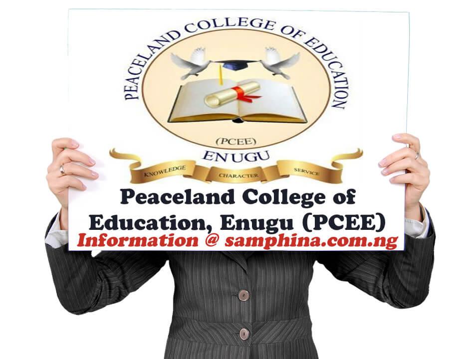 Peaceland College of Education Enugu PCEE