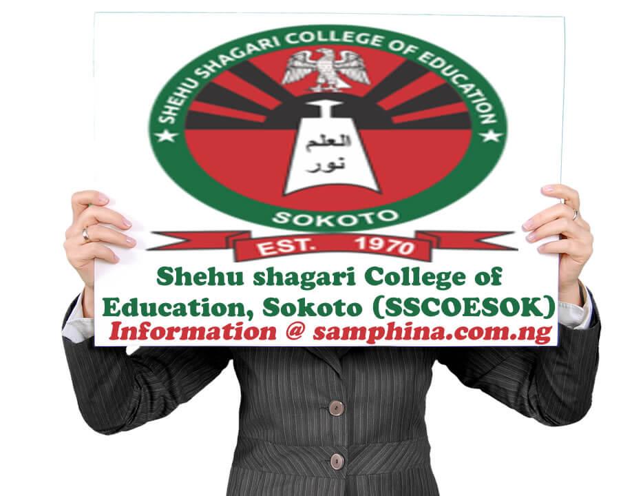 Shehu shagari College of Education Sokoto SSCOESOK