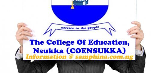 The College Of Education Nsukka COENSUKKA