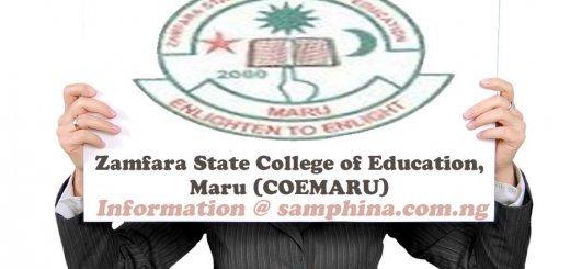 Zamfara State College of Education Maru COEMARU