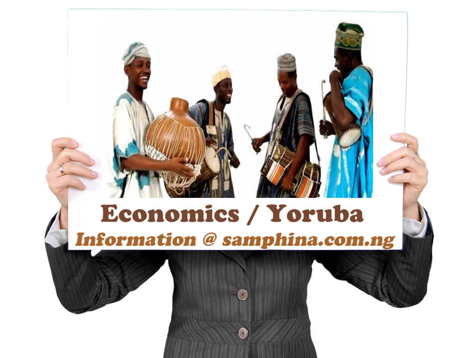 Economics and Yoruba