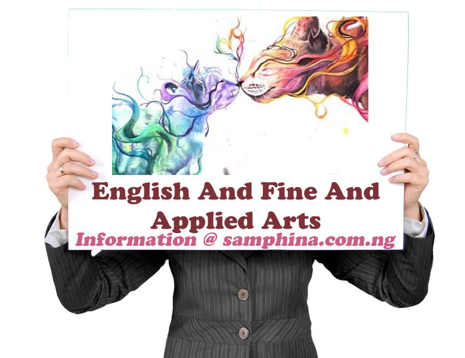 English And Fine And Applied Arts