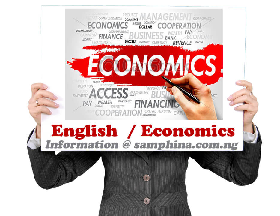English and Economics