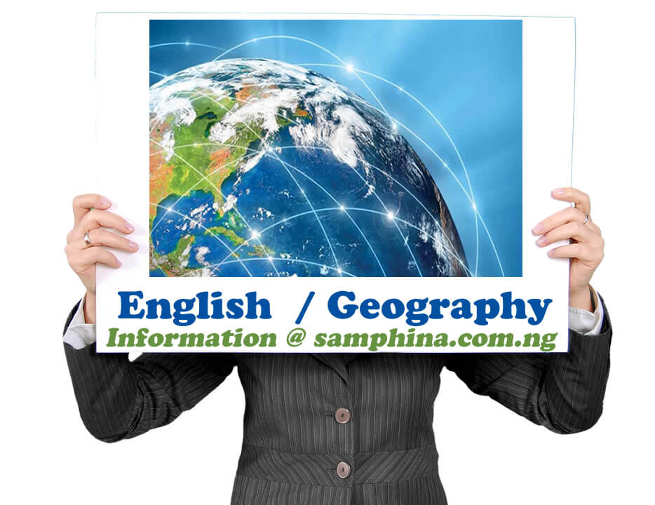 English and Geography