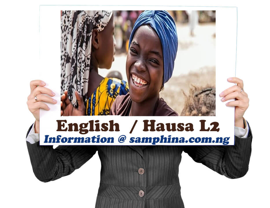 English and Hausa L2