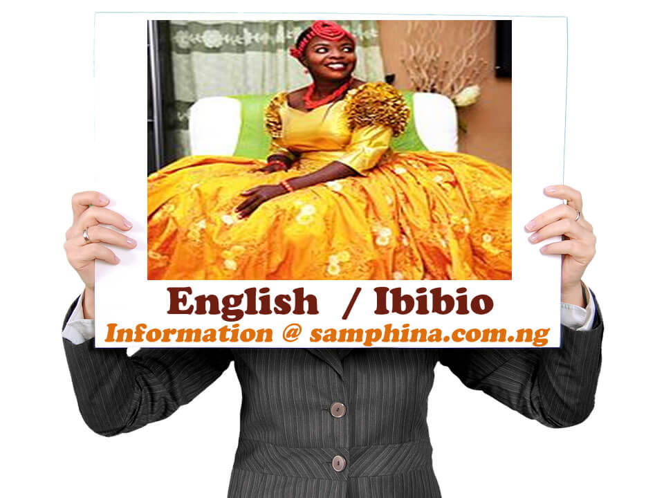 English and Ibibio