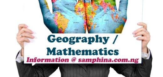 Geography and Mathematics