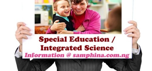 Special Education and Integrated Science