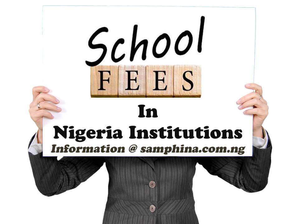 School Fees in Nigeria Tertiary Institution
