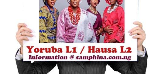 Yoruba L1 and Hausa L2