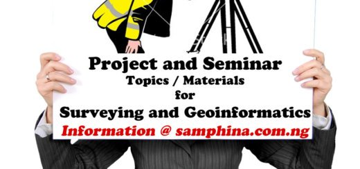 Surveying and Geoinformatics