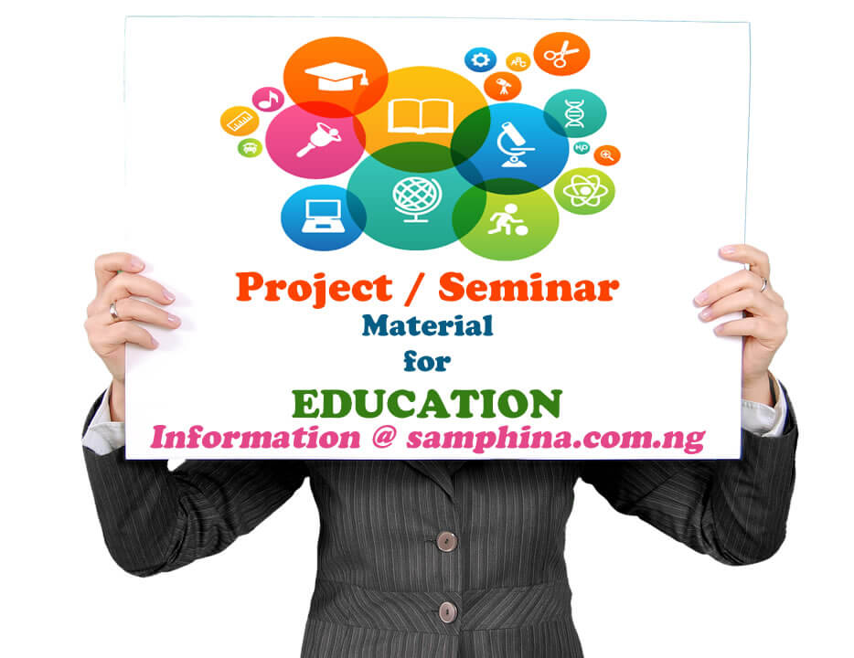 Project and Seminar Material for Education