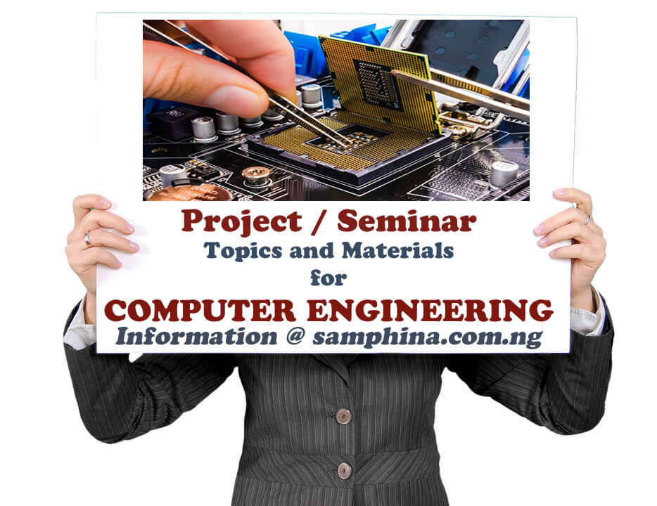 Project and Seminar Topics with Materials for Computer Engineering