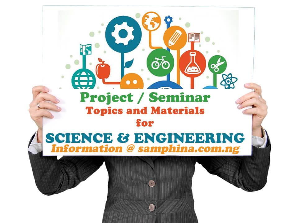 Project and Seminar Topics with Materials for Science and Engineering
